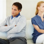 young couple with relationship problems